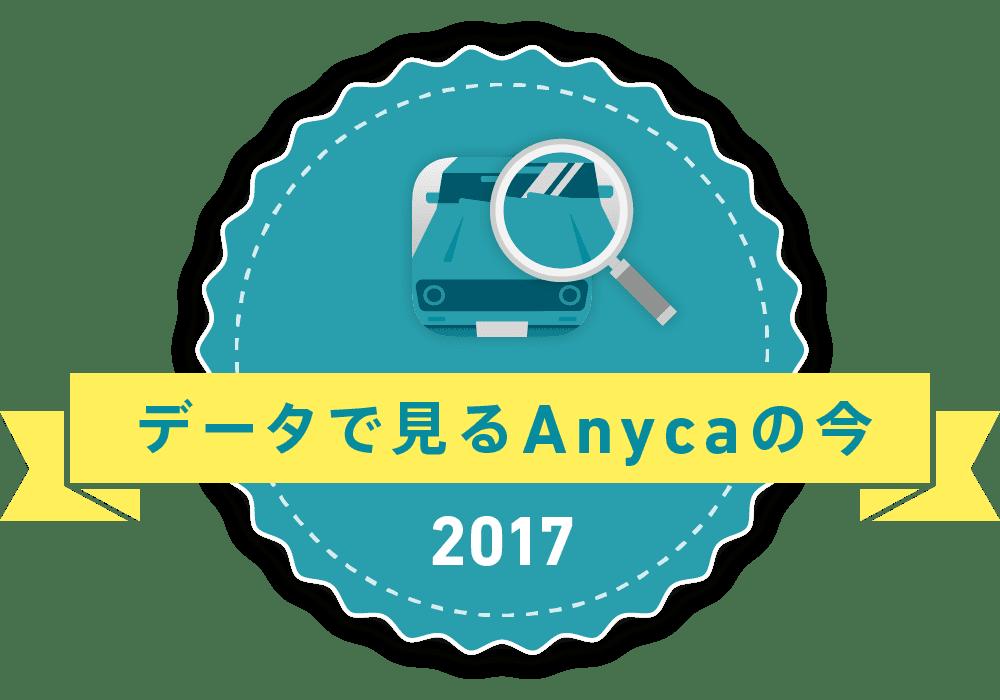 データで見るAnycaの今 2017