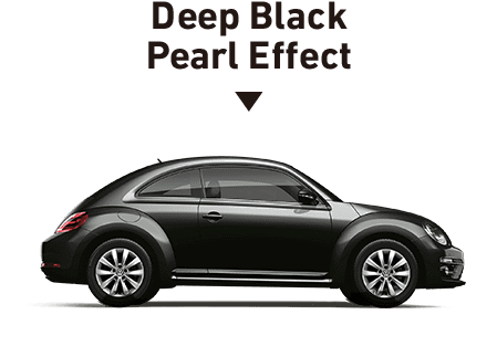 Deep Black Pearl Effect