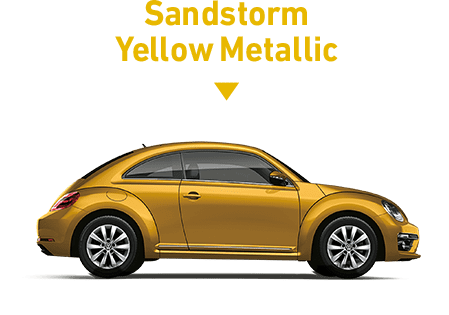Sandstorm Yellow Metallic